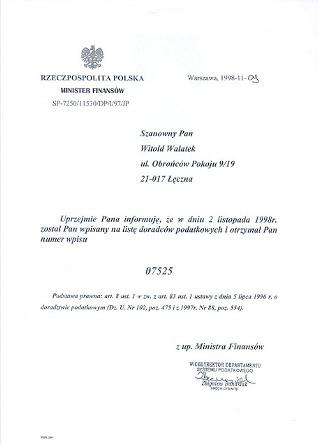 Uprawnienia Biuro Rachunkowe Łęczna, Księgowy Łęczna Baaf